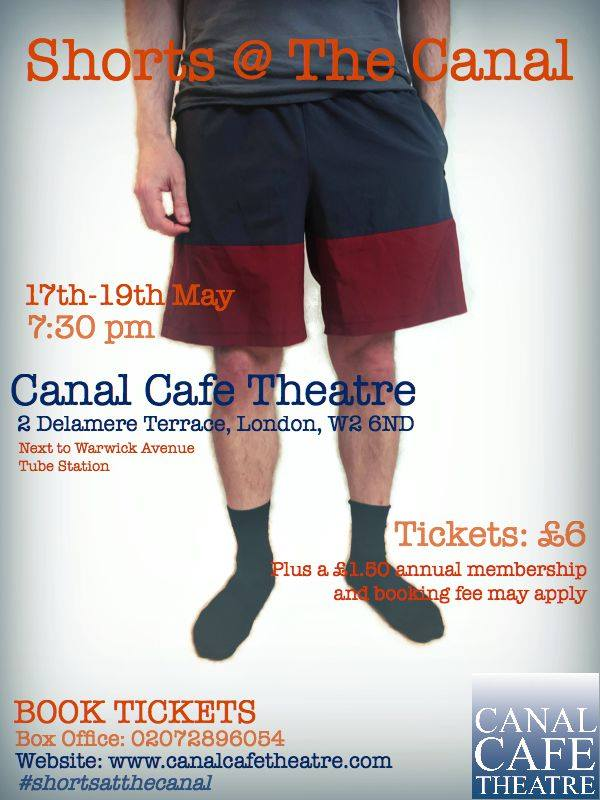 John Hill comedy play Canal Theatre